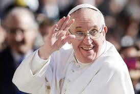 """Francisco: """"Todos somos iguales a los ojos de Dios""""."""" Yo soy como uno de vosotros"""""""