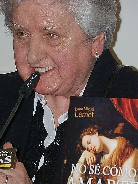 La teóloga María José Arana